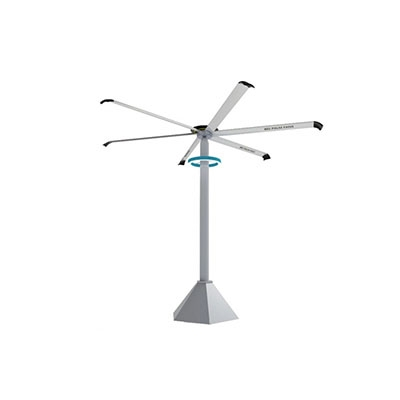 In the manufacturing process of large industrial ceiling fans, the smoothness of the blade surface must be strictly controlled